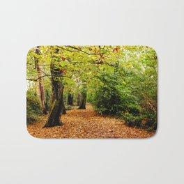 Autumn in the Forest Bath Mat