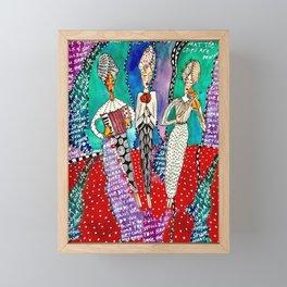 Sister Fates Framed Mini Art Print