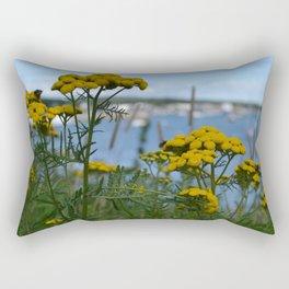 Coastal Vegitation Rectangular Pillow