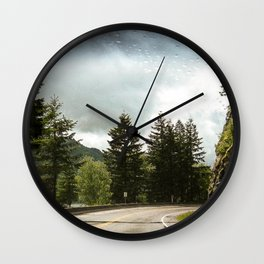 Harrison Highway Wall Clock