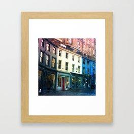 Streets of Edinburgh Framed Art Print