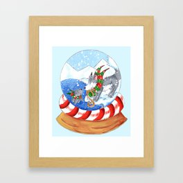 Polar Surprise Framed Art Print