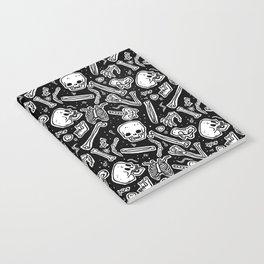 Skeleton Pattern Notebook