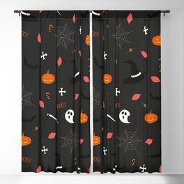 Halloween Pattern Blackout Curtain