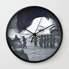 Pareidolia Wall Clock