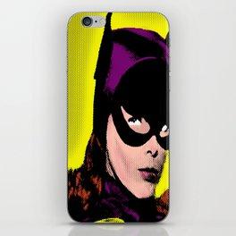 Retro Batgirl Pop Art iPhone Skin