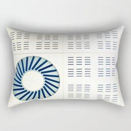 El frío Rectangular Pillow