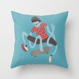 Peace, brah! Throw Pillow
