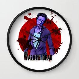 The Walken Dead – The Walking Dead Parody – Christopher Walken Zombie Wall Clock