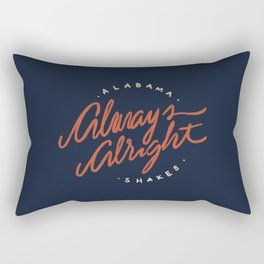 Alabama Shakes Rectangular Pillow