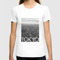 tokyo T-shirts featuring TOKYO by Rothko
