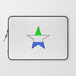 Flag of sierra leone 5 -salone,Sierra Leonean,Leone,Sierra Leona,freetown. Laptop Sleeve