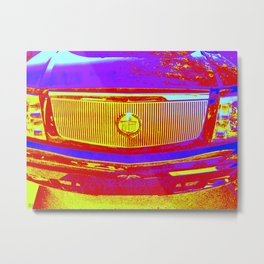 Do you want to ride in the backseat of my caddy? Metal Print