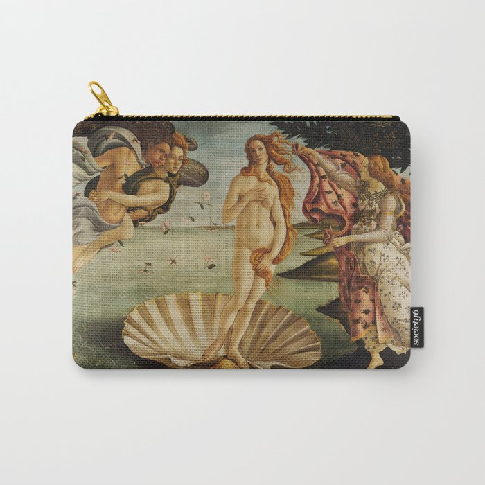 The Birth of Venus by Sandro Botticelli Carry-All Pouch