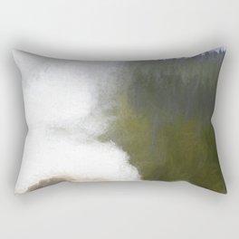Letting off Steam Rectangular Pillow