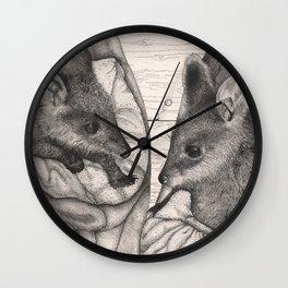 Swamp Orphans Wall Clock