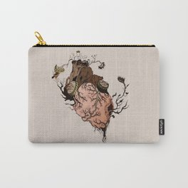 Carnivorous Plant Heart Carry-All Pouch