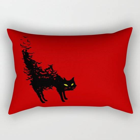 Freaking Meow Rectangular Pillow