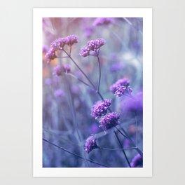 in purple mood Art Print