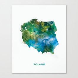 Poland Canvas Print
