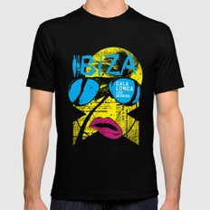 Ibiza MEDIUM Mens Fitted Tee Black