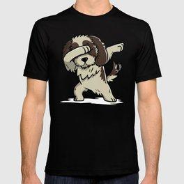 Dabbing Shih Tzu Dog Dab Dance T-shirt