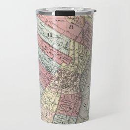 Vintage Map of Albany NY (1874)  Travel Mug