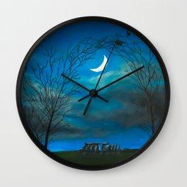 The Moon Gate Wall Clock