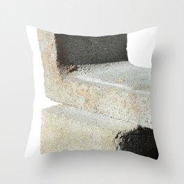 block study Throw Pillow