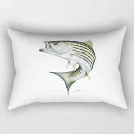 Striped Bass Rectangular Pillow