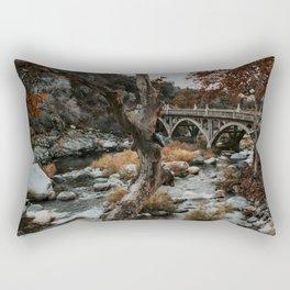 three rivers bridge Rectangular Pillow