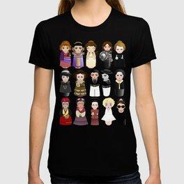 Kokeshis Women in the History T-shirt