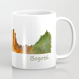 Bogota City Skyline Hq V1 Coffee Mug