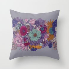 the wild side - colored Throw Pillow
