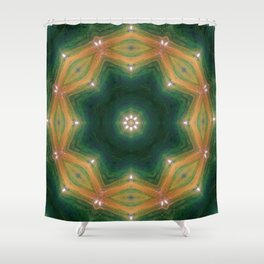 Cosm(et)ic Realignment Shower Curtain