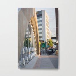 Virginia Street Bridge Metal Print
