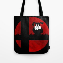 Smash and Laugh (red) Tote Bag