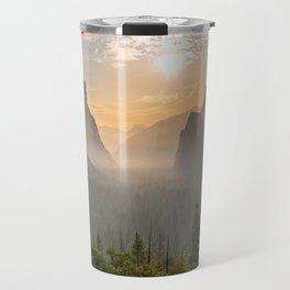 Morning Yosemite Landscape Travel Mug