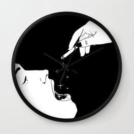 Let's celebrate / Illustration Wall Clock