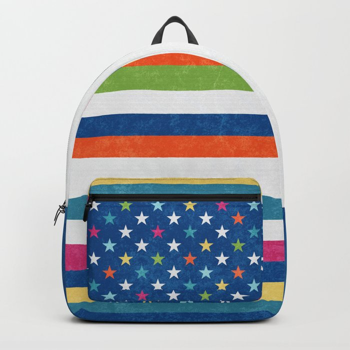 American flag trendy colors 2017 Backpack