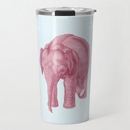 Pink elephants and the emperor of icecream Travel Mug