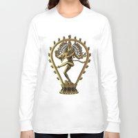 shiva Long Sleeve T-shirts featuring Shiva by Aurapim Vorasopan