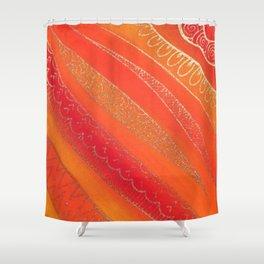 Golden Haze Shower Curtain