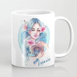 Aquarius Zodiac Coffee Mug