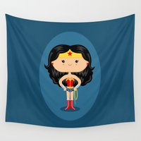 wonder Wall Tapestries featuring Wonder by Sombras Blancas Art & Design