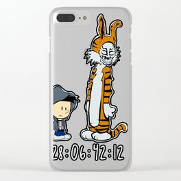 Donnie and Frank Clear iPhone Case