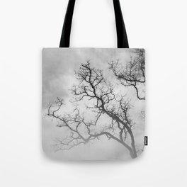 Winter Veins Tote Bag