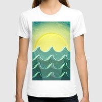 notebook T-shirts featuring Sun and sea by Katherine Paulin