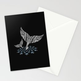 Tahlequah and her Calf Stationery Cards