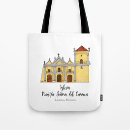 Iglesia del Carmen Tote Bag